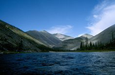 Blackstone River, Yukon Territory, Canada.