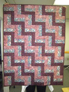 Comfort quilt.  Blocks made by my students.
