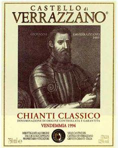 Chianti Classico wine label