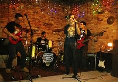 My band, Wolfbreed, on stage!
