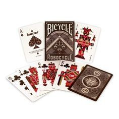 robocycle playing cards