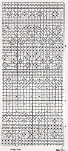 Norwegian knitting pattern -