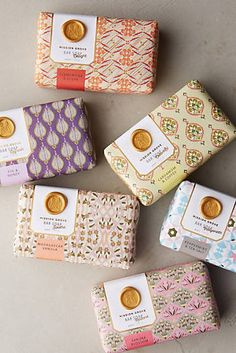 Gorgeous packaging on Mission Grove's soaps! Available at Anthropologie. Gorgeous packaging on Mission Grove's soaps! Available at Anthropologie. Handmade Soap Packaging, Handmade Soaps, Plastic Packaging, Food Packaging Design, Packaging Design Inspiration, Beverage Packaging, Soap Packing, Homemade Soap Recipes, Organic Soap