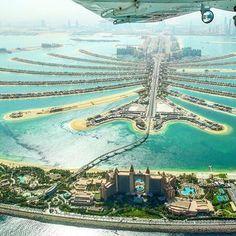 The Palm Jumeriah ➖➖➖➖➖➖➖➖➖➖➖➖➖➖➖➖➖ Photo Credit : Dubai City, Entrepreneur, Palm Jumeirah, Dubai Travel, United Arab Emirates, Photo Credit, City Photo, Beautiful Places, Photos
