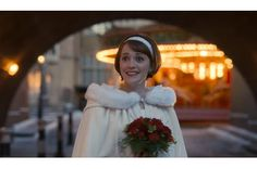 Call The Midwife Series 6 episode 8 - newlywed midwife Barbara who married the curate Tom. Charlotte Ritchie, Call The Midwife, Pride And Prejudice, Just Married, Newlyweds, Tv Series, Hollywood, Actors, Cloak