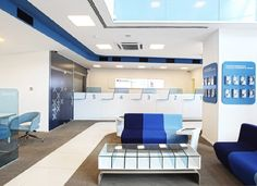 An award-winning bank design agency in London. Read more about our bank designs today. Bank Interior Design, Best Interior Design Apps, Interior Design Renderings, Hall Interior, Flur Design, Hall Design, Corporate Interiors, Office Interiors, Banks Office