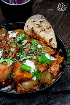 Jaipuri Aloo Pyaaz Ki Sabzi - Potato Onion Curry is made using fried potatoes and onions simmered in buttery and spicy tomato gravy. Paneer Recipes, Veg Recipes, Curry Recipes, Indian Food Recipes, Vegetarian Recipes, Cooking Recipes, Recipies, Cooking Tips, Rajasthani Food