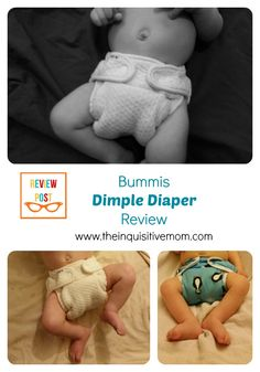 Bummis Dimple Diaper Review