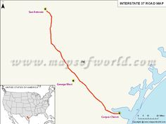 US Interstate Map Map Pinterest San Diego - Map of the us interstates