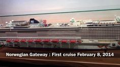 Brand new cruise ship : #Norwegian #Gateway