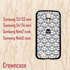 S4 Mini case,Samsung galaxy s4 active,Samsung galaxy s4 active case,Samsung S4 case,Samsung Galaxy S3 case--star wars,in plastic. by CrownCase88, $14.99