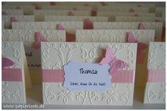 ~+Tischkarten+in+creme+zur+Hochzeit+der+Taufe++~+von+papierlook+auf+DaWanda.com