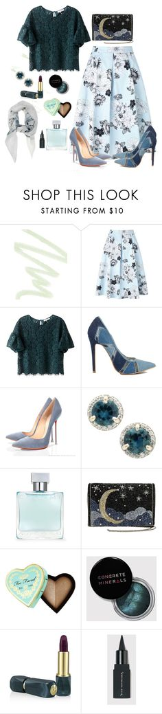 """""""Untitled #60"""" by sarahaaaaa ❤ liked on Polyvore featuring Dolce&Gabbana, Miss Selfridge, Azzaro, Too Faced Cosmetics and Oribe"""