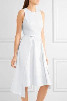 Chalayan | Asymmetric cotton-poplin dress | NET-A-PORTER.COM
