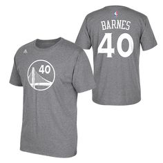 2a0864e0d75ce Golden State Warriors adidas Harrison Barnes Name  amp  Number Tee  http   www