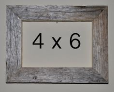4 x 6 Driftwood Picture Frame 240 by DriftwoodMemories on Etsy, $16.95