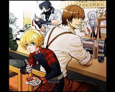 Nitro+CHiRAL, Togainu no Chi, Akira (TNC), Rin (TNC), Shiki (TNC), Motomi (TNC)