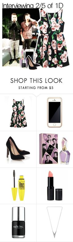 """Interviewing 2/5 of 1D"" by fangirl-1d ❤ liked on Polyvore featuring Chicnova Fashion, Squair, Blue Inc Woman and Nails Inc."