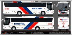 DESENHOS ONIBUSALAGOAS: NACIONAL DE LUXO  1025 Mercedes Benz, Onibus Marcopolo, Star Bus, Commercial Vehicle, Car Wrap, Paper Crafts, Trucks, Vehicles, Posters