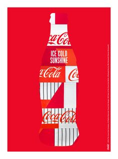 Kiss The Past Hello. Coca-Cola Design: 100 Years of the Coca-Cola Bottle. by: Darren Romanelli, DRx Romanelli Coca Cola Ad, Always Coca Cola, Coca Cola Pictures, Poster Ads, Bottle Design, Coke, Energy Drinks, The 100, Poster
