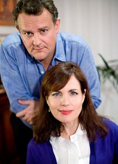 Lord and Lady Grantham have been married before! Hugh Bonneville and Elizabeth McGovern played Mr. and Mrs. in the 2008 BBC series Freezing and in a 2003 U.K. TV movie.