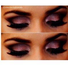 SnapWidget | Tem tutorial dessa make lá no blog  www.diariodamoda.com #tutorial #makeup #makedelicada #makeromantica #naked #naked3 #video #passoapasso #makerosa