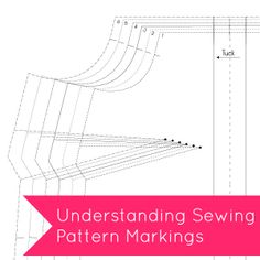 Tilly and the Buttons: Understanding Sewing Pattern Markings diy