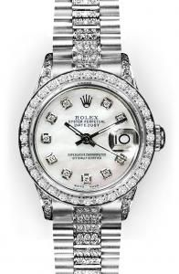 Save 200 dollars on Women's Rolex Watches at Melrose Jewelers.