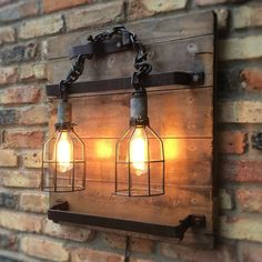 Steampunk Lighting Fixture Wall Lamp by RareRusticRelics on Etsy