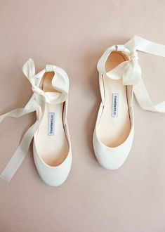 74c76965379 The Wedding Ballet Flats in Light Ivory