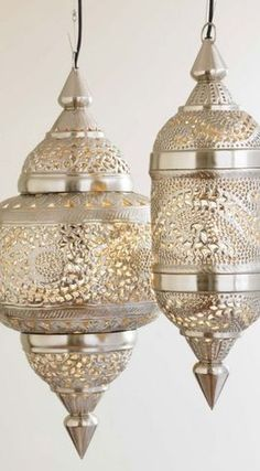 Moroccan style lamps