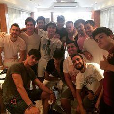 Neymar  &  Friends (29.06.2015)  Geburtstagsfeier @jotace520   #Repost @thigagliasso ・・・ @familiagagliasso nosso almoco niver do @jotace520 boyzzzzzz