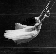 Photograph by Maarten Vanden Abeele. Still from 'Viktor', a piece by Pina Bausch