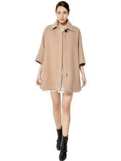 CHLOE' / DOUBLE FACE WOOL COAT