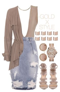 """""""DUST."""" by goldxstyle ❤ liked on Polyvore featuring OneTeaspoon, Maison Margiela and The Row"""