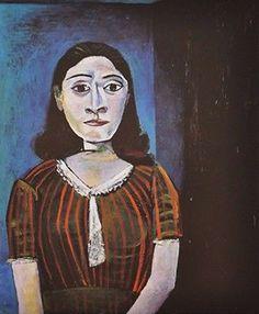 Portrait of Dora Marr by Pablo Picasso