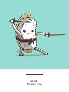 Samurai sushi on Behance