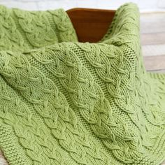 Check out Valley Yarns WEBS Emerging Designer #04 Sproutlet Blanket Kit at WEBS   Yarn.com.
