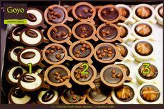 Pequeñas cazuelas de #chocolate, ¿cuál os apetece más? ----- Small chocolate pots, which one do you prefer?    Goyo #PuertoBanus (2015) #Marbella