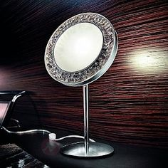 lśniąca lampa stołowa MALE w kolorze chromu 8510403
