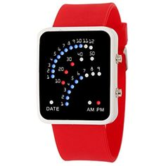 AmyDong Futuristic Style Multicolor LED Sport Watch --- Please be sure to check out this awesome product. (This is an affiliate link and I receive a commission for the sales)