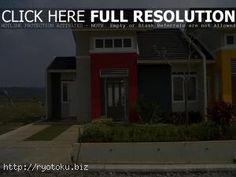 warna cat rumah minimalis merah outdoor indoor001