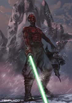 Darth Maul Discover It is over now by Templado on DeviantArt It is over now by Templado Star Wars Characters Pictures, Star Wars Images, Star Wars Fan Art, Darth Maul Wallpaper, Star Wars Sith, Clone Wars, Star Trek, Star Wars Personajes, Star Wars Poster