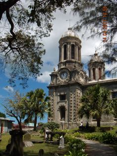 A beautiful old cathedral on Antigua