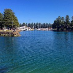 Blue skies and blue waters in Port Fairy the last stop on our Great Ocean Road trip #greatoceanroad #portfairy #victoria #australia #idyllic #freezing #usedtobecalledbelfast #whatsthechances by jomarr112
