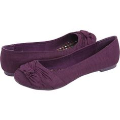 These are the comfiest flats ever - Already have in black, red and olive green.  Rocket Dog - Memories