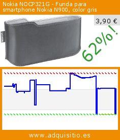 Nokia NOCP321G - Funda para smartphone Nokia N900, color gris (Accesorio). Baja 62%! Precio actual 3,90 €, el precio anterior fue de 10,19 €. http://www.adquisitio.es/nokia/nocp321g-funda-smartphone