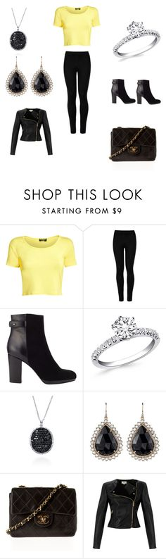 """""""To cool to be a spy"""" by nune-yockel on Polyvore featuring Pilot, Wolford, Jigsaw, Effy Jewelry, Irene Neuwirth, Chanel and Temperley London"""
