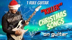"""KILLER"" Christmas Songs on Guitar!"