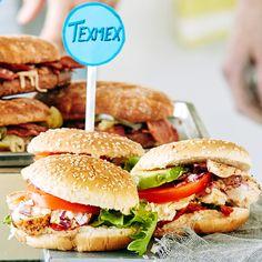 Texmex-kanahampurilaiset | K-ruoka #burgeri